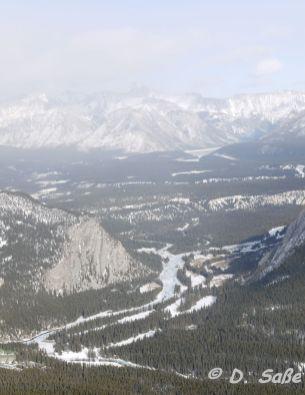 Banff im Tal