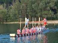 Schifferstechen heißt der Ritterkampf auf dem Wasser