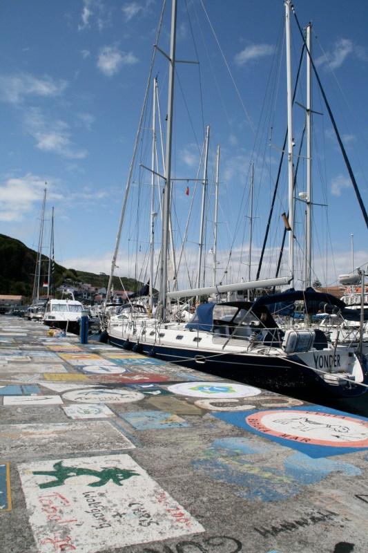 Azoren, Horta, Hafen