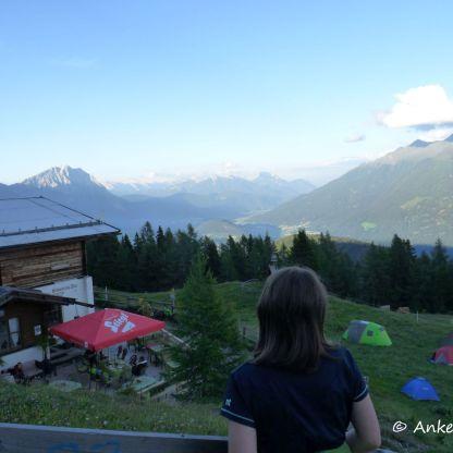 Tirol Benstem Reisefeder Berge Mieminger Plateau