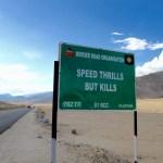 Schilder-Bilder 5: Zu schnell unterwegs in Ladakh