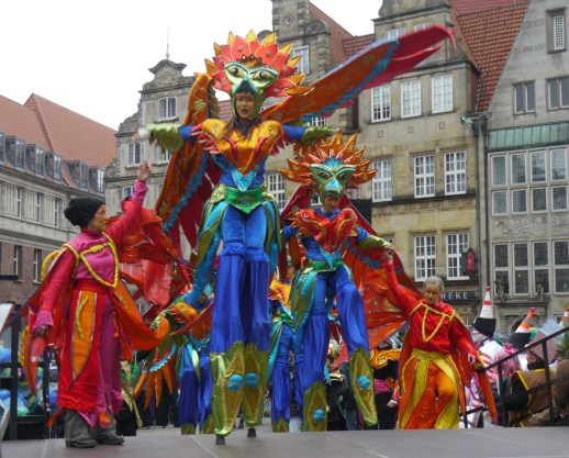 Sambakarneval zum Winterende