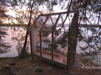 Glashütte im Morgenlicht