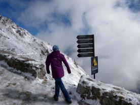 Reisefeder Innsbruck Benstem Nordkettenbahn Hafklekar Schnee
