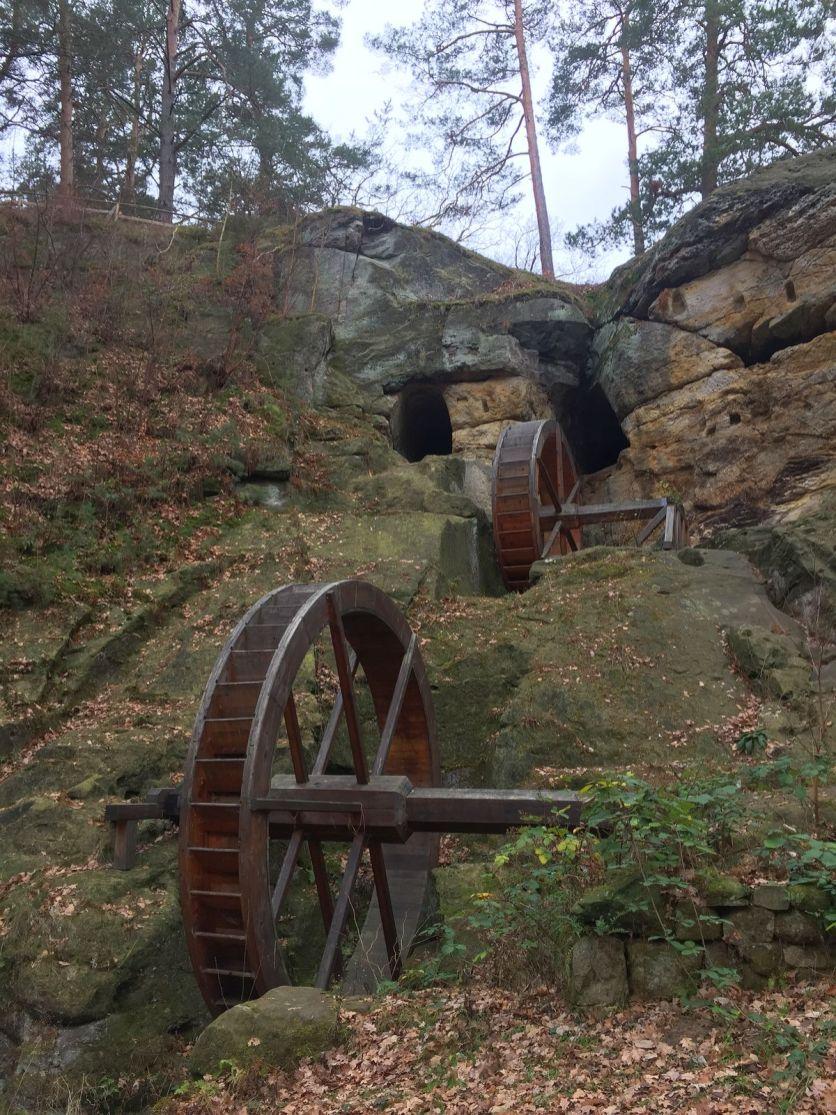 Benstem Reisefeder Harz Regenstein Regensteinmühle