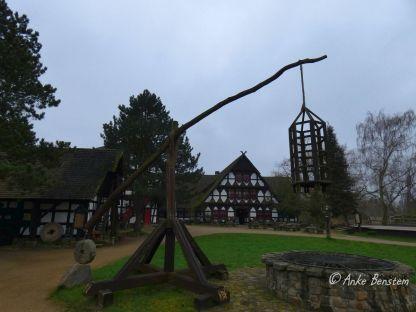Reisefeder Gifhorn Mühlenmuseum Benstem Niedersachsen Dorf 2