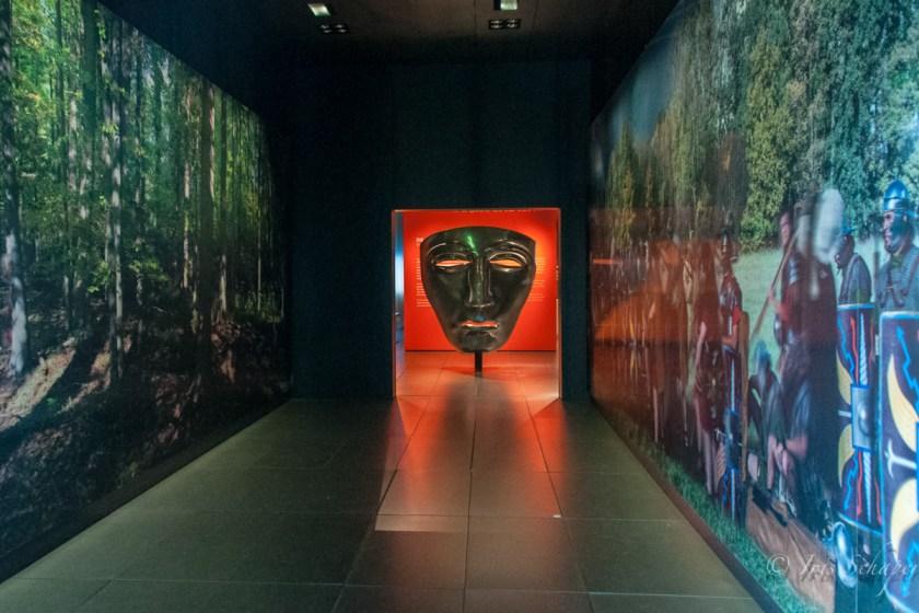Eingangsbereich Museum Kalkriese Dauerausstellung