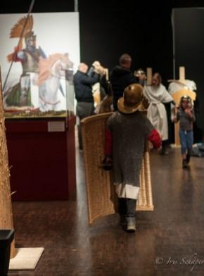 Roms Legionen, eine Ausstellung zum Ausprobieren und Anprobieren