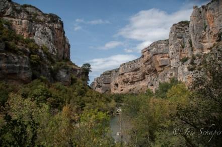 Foz de Lumbier Schlucht in Navarra