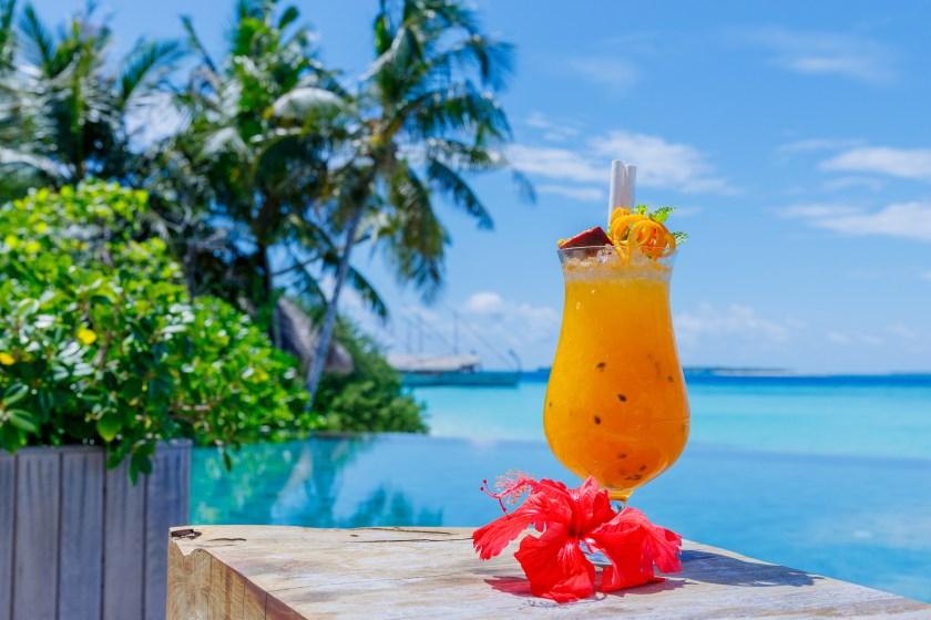 Cocktailbar, Milaidhoo Island, Malediven