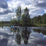 Herbst-Pilgern in Finnland, jetzt von zuhause aus