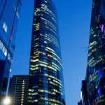 Russland-Skyline Neue Moskau CIty