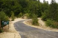Neue Straße am Durmitor-Ring