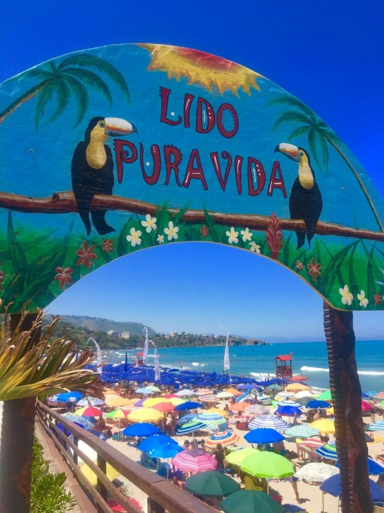 strand i Cefalu Sicilia