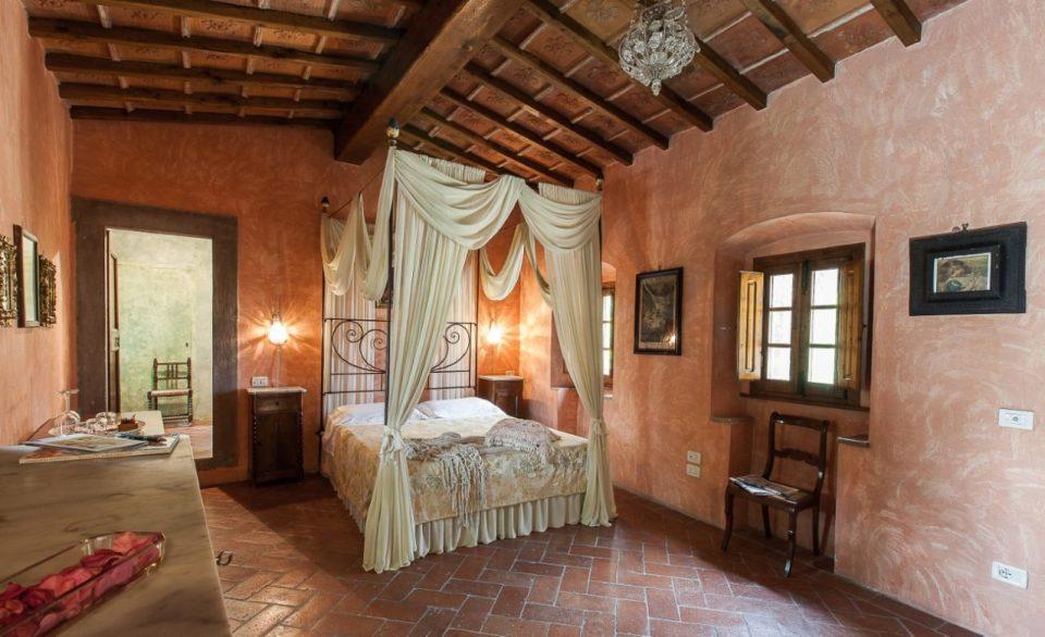 Hotellrom på Villa il Paradisino