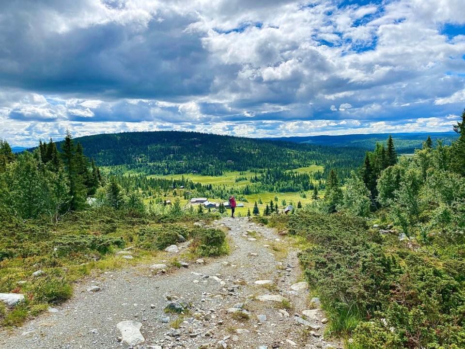 Utsikt fra Spåtind