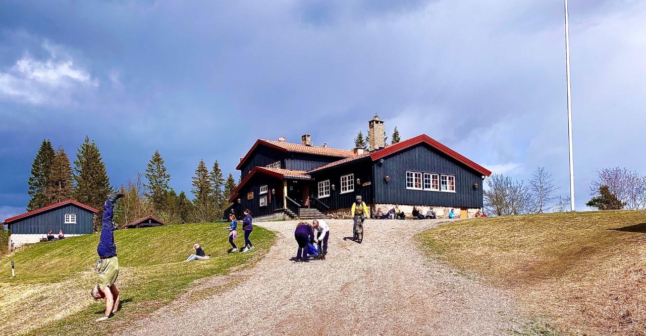 Lilloseter er et populært utfartsted i Lillomarka