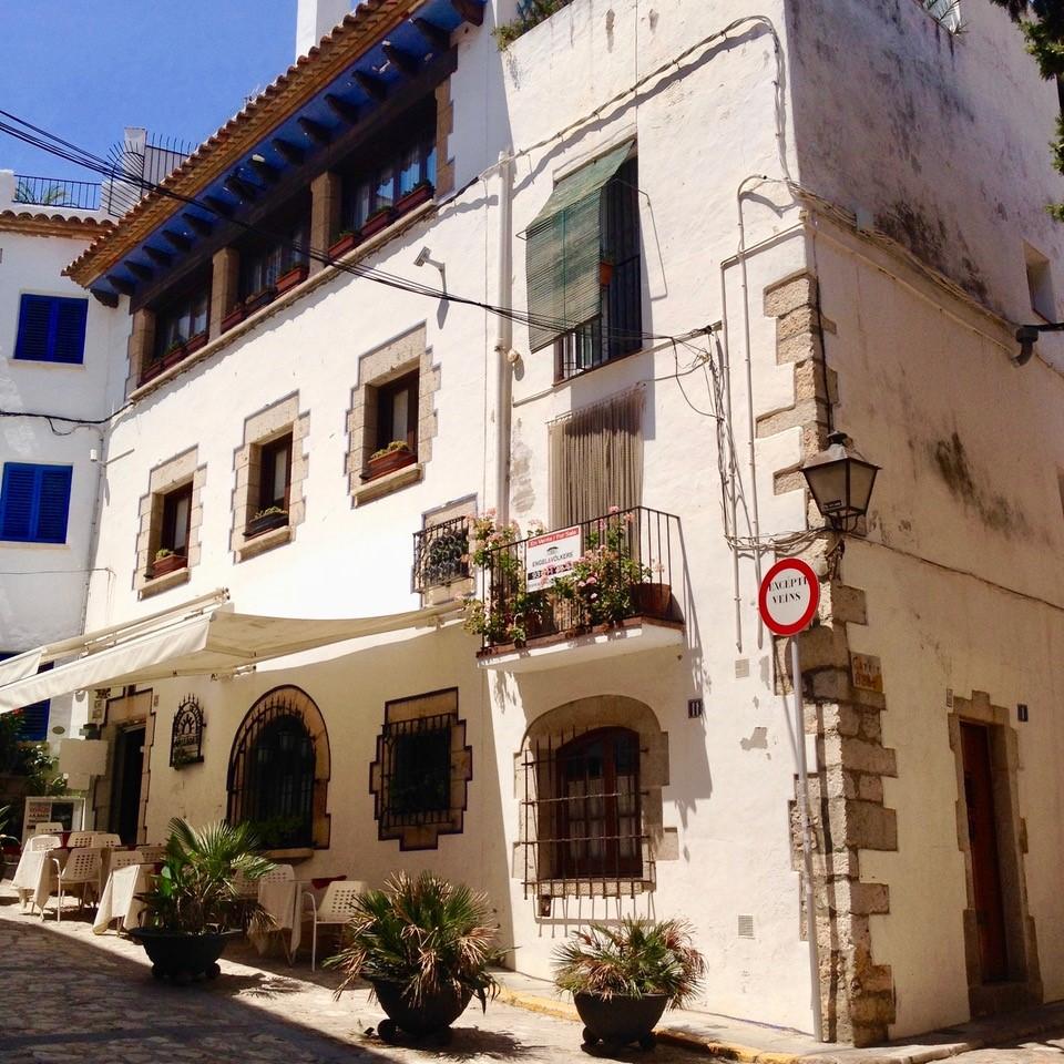 Fasade Sitges hotell
