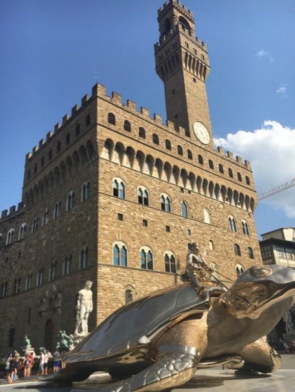 Rådhuset i Firenze