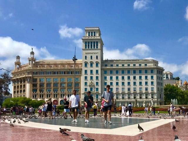 Plaza Catalonya