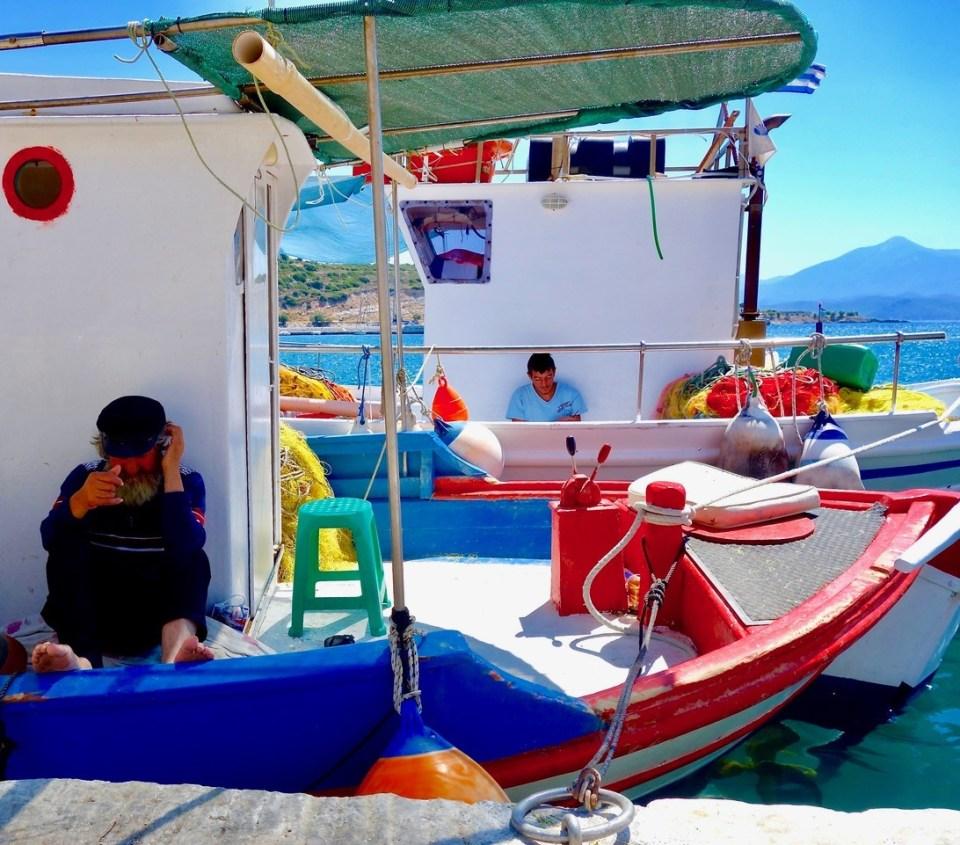 Fiskebåt Samos