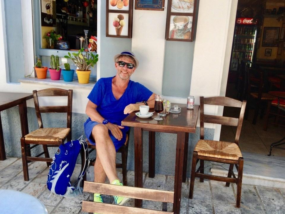 Kafe på Samos