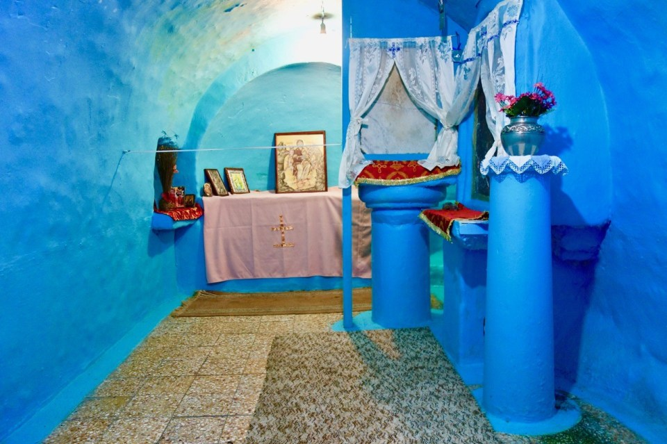 Samos underjordisk kirke