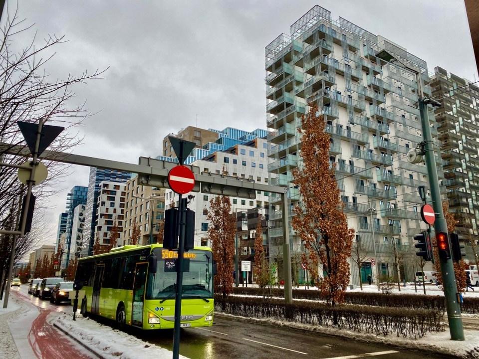 Dronning Eufemias gate i Oslo