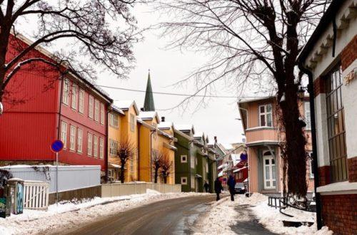 Trehusbebyggelse på Kampen i Oslo