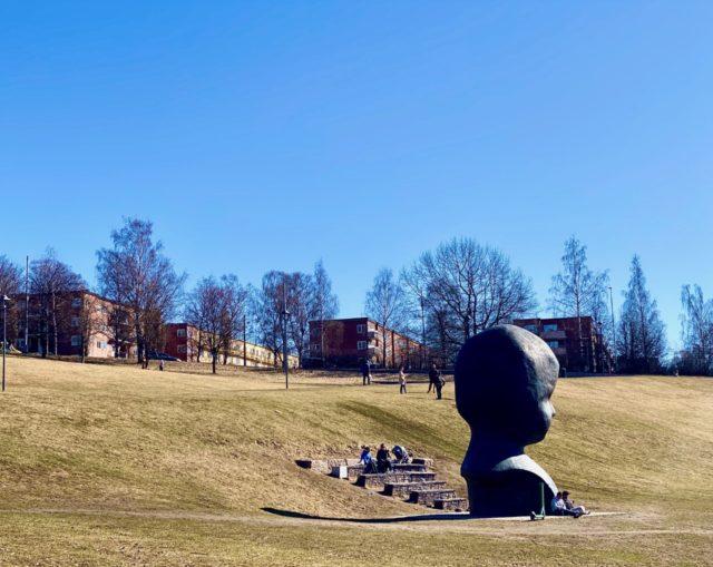 Statue hode NN Torshovdalen