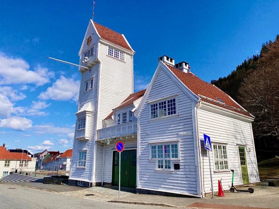 Gamle brannstasjon i Bergen