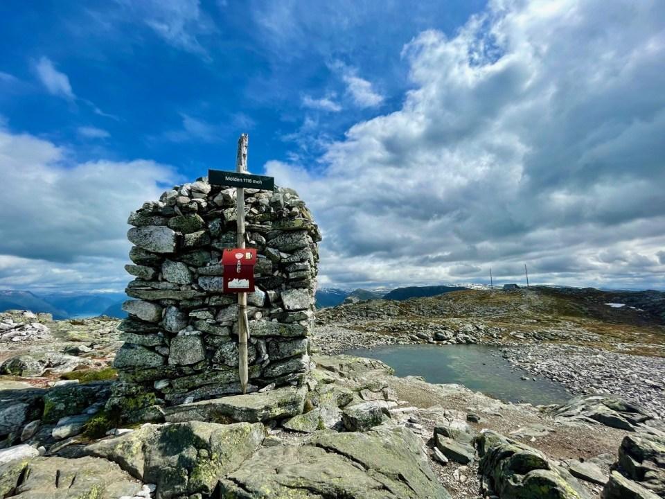 Toppvarden på Molden