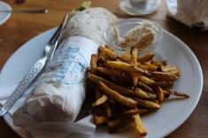 Dirty Roll lecker Essen in Berlin Prenzlauer Berg, Mauerpark