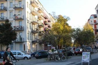 Schwedter Straße in Berlin