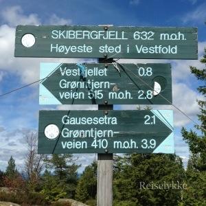 Skibergfjell, Vestfold, Norge, Norway