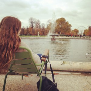 Un Parisienne in Paris Photo: Mette S. Fjeldheim