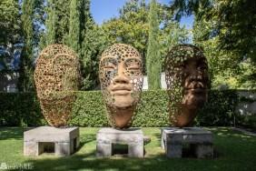 Kunst hos Grand Provence Franschhoek