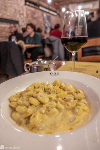 Hjemmelaget pasta i Bologna
