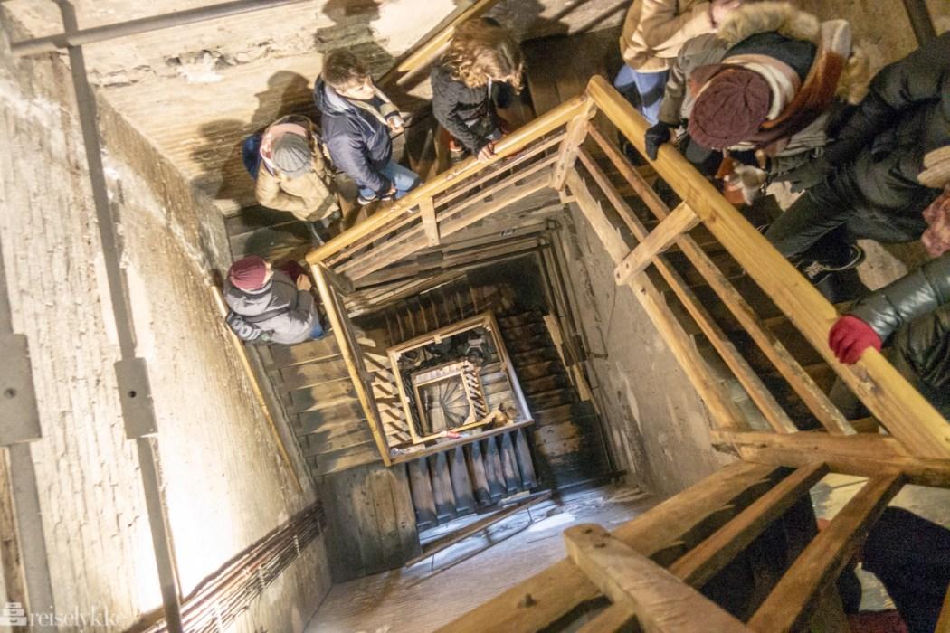 Opp i Asinelli-tårnet i Bologna