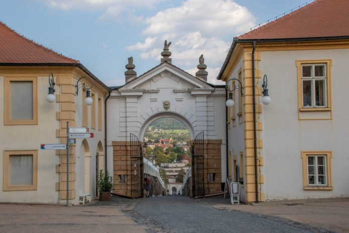 Slottet i Děčín