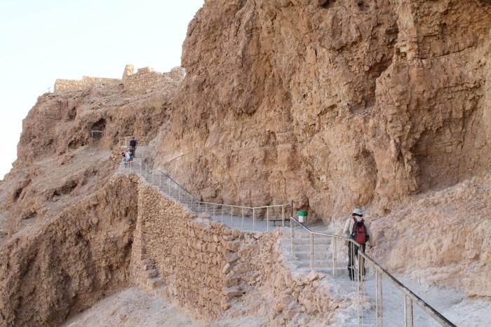 På vei til Masada