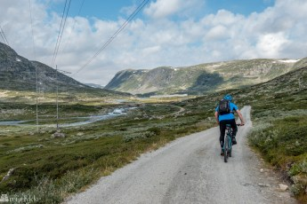 Sykkeltur langs Rallarvegen