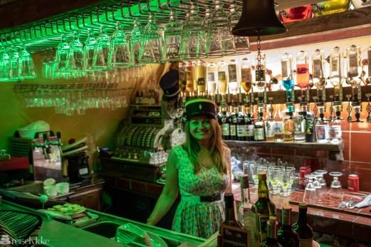 Absinth bar i Antibes