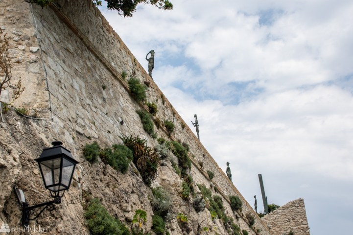 Bymuren i Antibes