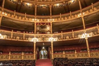 Inne i Teatro Nacional San José