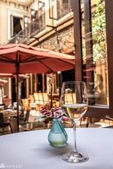 Vin servert på Grano de Oro