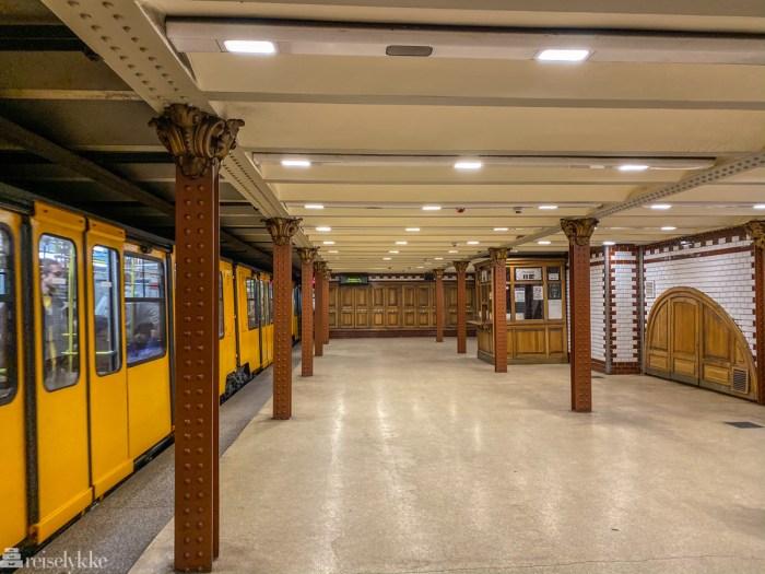 Metro i Budapest