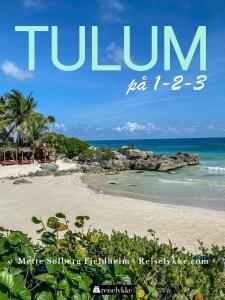 Reiseguide til Tulum Mexico forside