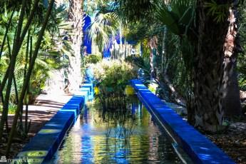 Jardin Majorelle i Marrakech