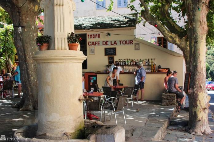 Café de la Tour, Nonza, Cap Corse